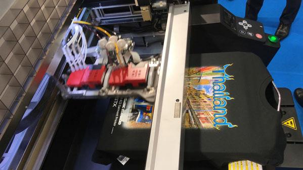 Digitalna štampa direktno na tekstilu - GTX Brother
